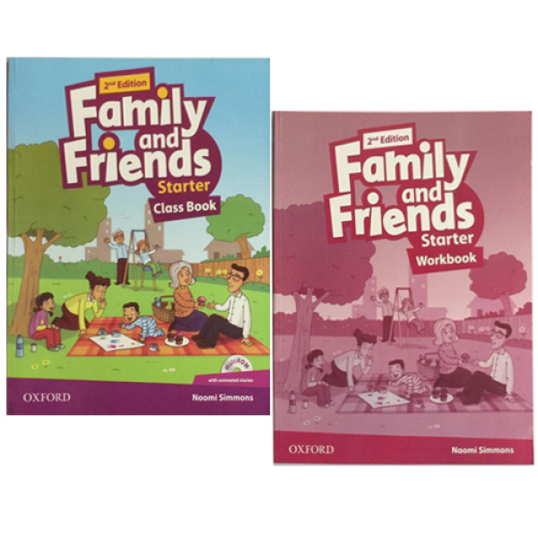 Mua COMBO (2 cuốn Class book + work book) Family And Friends STARTER - 2nd Edition