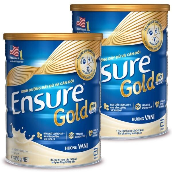 Sữa Ensure Gold HMB Mới 850g date 2023 giá rẻ