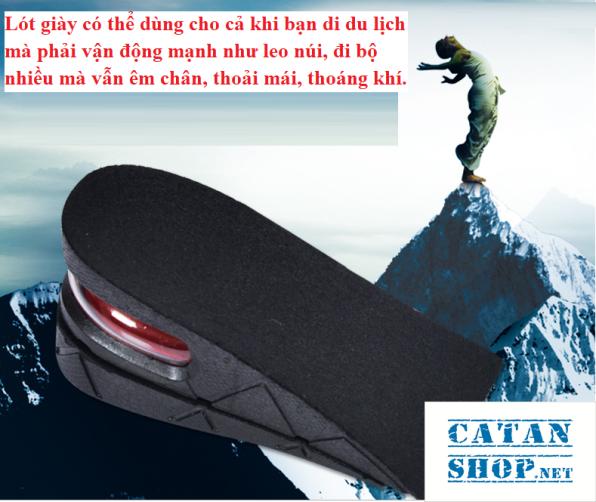 ❤️TRỢ GIÁ❤️ Combo 4 miếng lót đế giày tăng chiều cao Air có đệm khí siêu êm ái, giày đế cao, giày độn gót GD233-LGIAYTCC giá rẻ