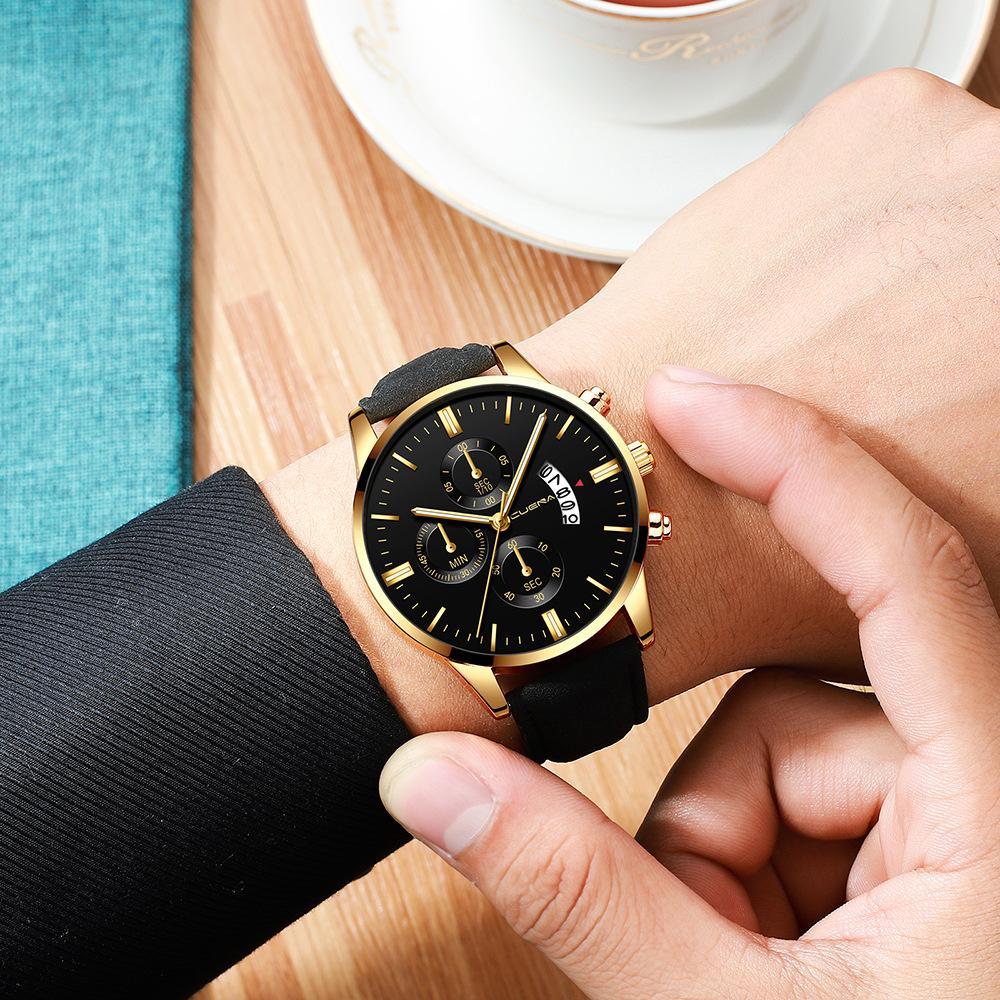 Nơi bán Đồng hồ nam dây da Cuena CU845 Leather sang trọng nam tính
