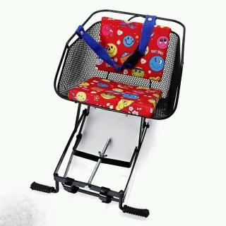 Ghế ngồi xe máy số có dựa sắt (thưa) cho bé - ghế ngồi xe máy thumbnail