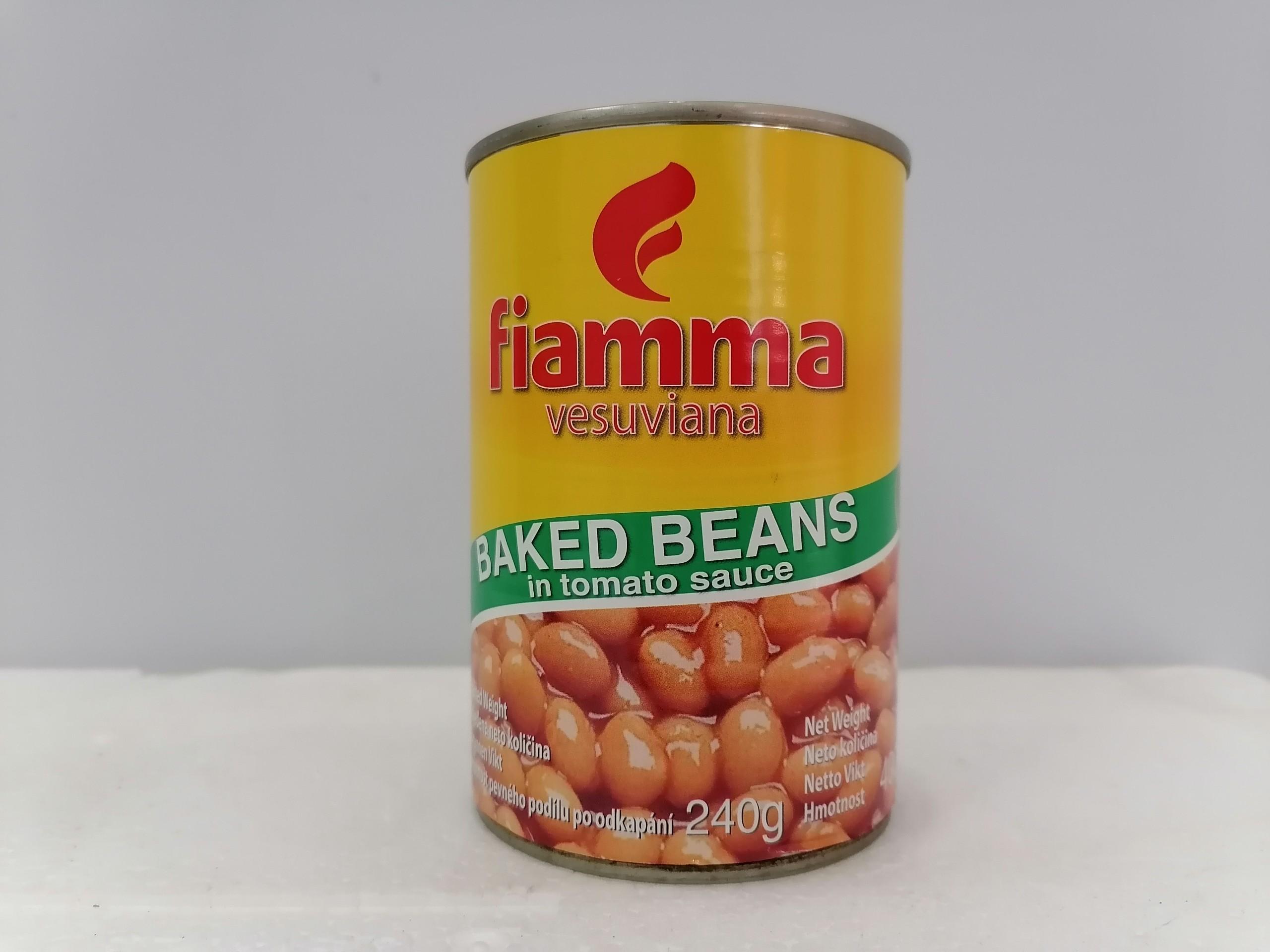 Đậu sốt cà FIAMMA Baked Beans in tomato sauce 400g (halal)
