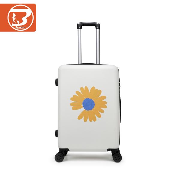 Vali kéo du lịch Bamozo FLORIN hoa cúc 20inch/24inch Bảo hành 5 năm