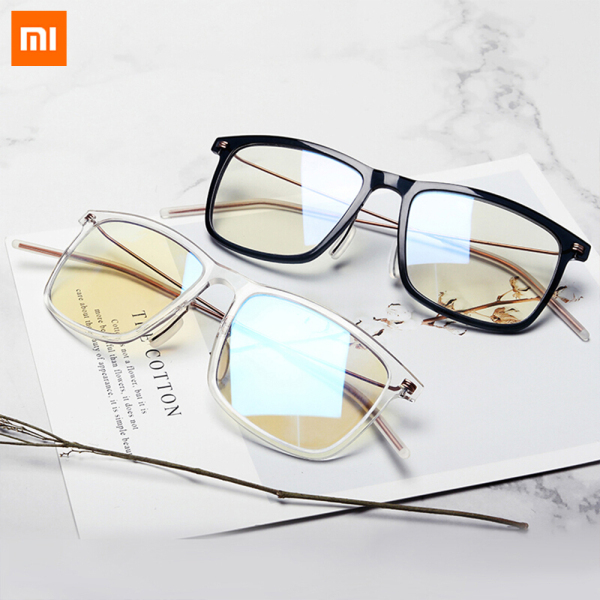Giá bán Xiaomi Mijia Anti-blue Light Goggles Pro 83% Blue Blocking Rate Minimal Design Double-sided Oil Resistance Simple And Versatile Men Women Ultralight Anti-UV Glasses for Play Computer Smartphone Driving Comfortable Wear TR90 Metal Frame Goggle
