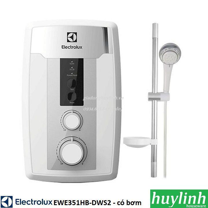 Bảng giá Máy nước nóng trực tiếp có bơm Electrolux EWE351HB-DWS2 – 3500W