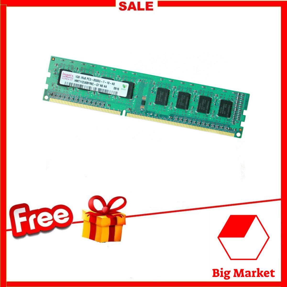 Bộ Nhớ Ram Dành Cho Pc Hynix (1gb, Ddr 2, Bus 800mhz) By Big Market