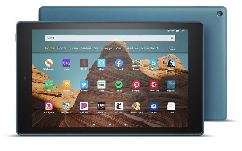 Máy tính bảng Kindle Fire HD 10 - 2019 - 9th generation - dung lượng 32GB/64GB (All-New Fire HD 10 Tablet - 10.1  1080p full HD display, 32GB/64GB - 9th generation)