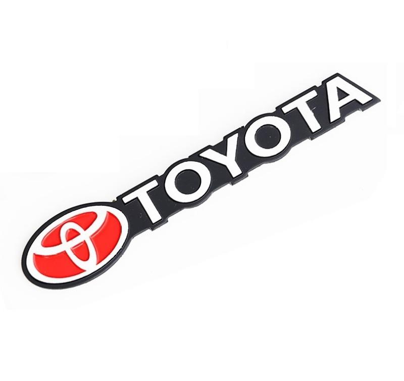 Tem Chữ TOYOTA dán trang trí Ô tô cao cấp