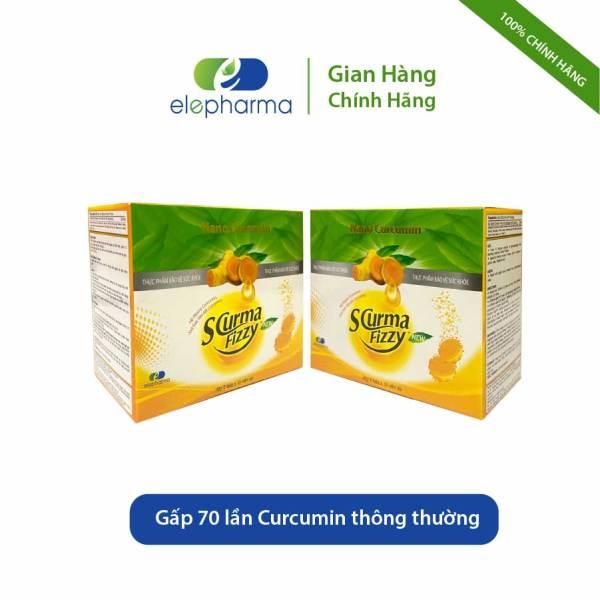 [Combo 2 hộp] Viên sủi dạ dày Scurma Fizzy New - Hỗ trợ viêm loét dạ dày, trào ngược dạ dày thực quản - Hộp 20 viên x 2 hộp