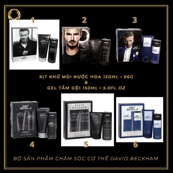 Bộ Chăm Sóc Cơ Thể Nam David Beckham ( DEO + GelS) tốt nhất
