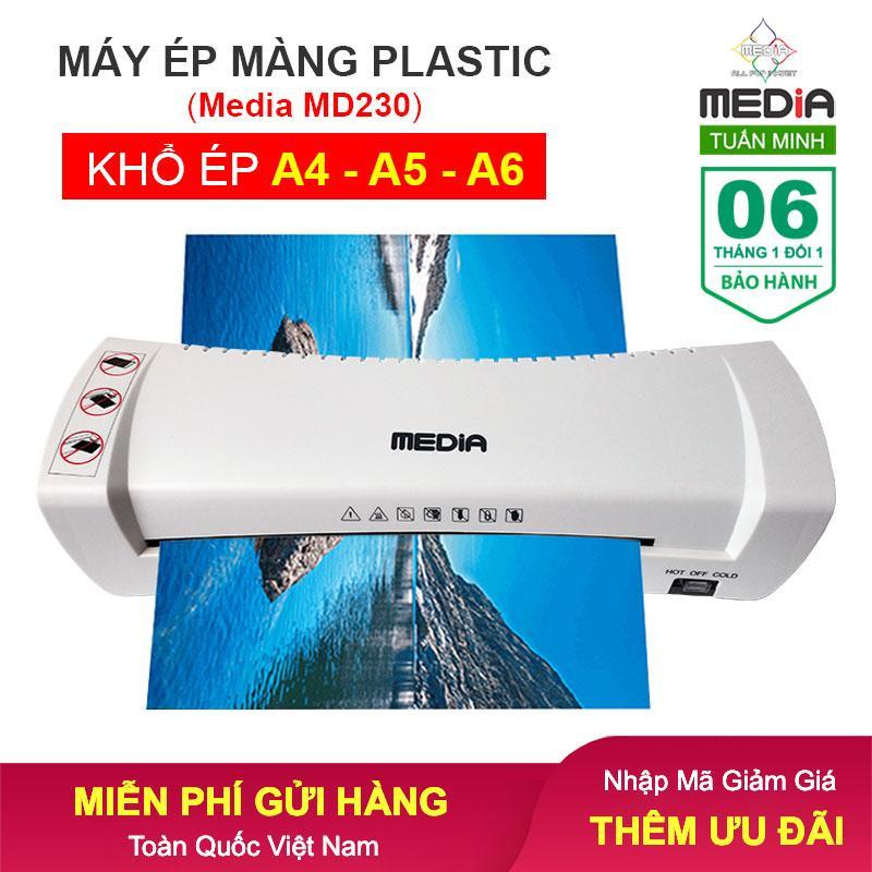 Máy Ép Màng Plastic Media MD230 Khổ Ép A4