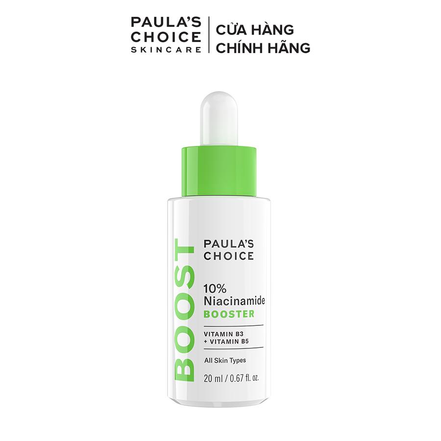 Tinh chất se khít lỗ chân lông và làm sáng da Paula's Choice 10% Niacinamide Booster