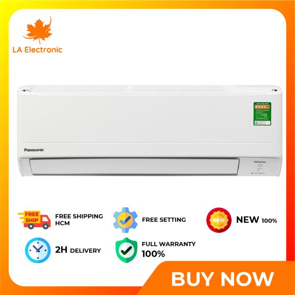 Trả Góp 0% - Máy lạnh Panasonic Inverter 1.5 HP CU/CS-WPU12WKH-8M - Miễn phí vận chuyển HCM