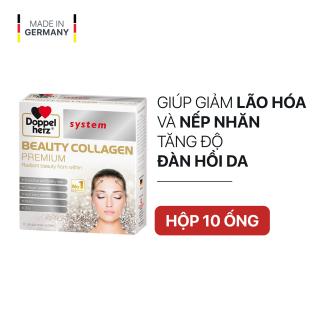 [DATE 12 2021] Collagen thuỷ phân chống lão hóa, đẹp da Doppelherz Beauty Collagen (Hộp 10 ống) thumbnail