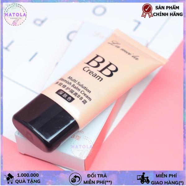 Kem nền BB che khuyết điểm dưỡng ẩm Cream Moisturing Lameila tone tự nhiên phù hợp dành cho mọi loại da KN-LML Ht Kn1
