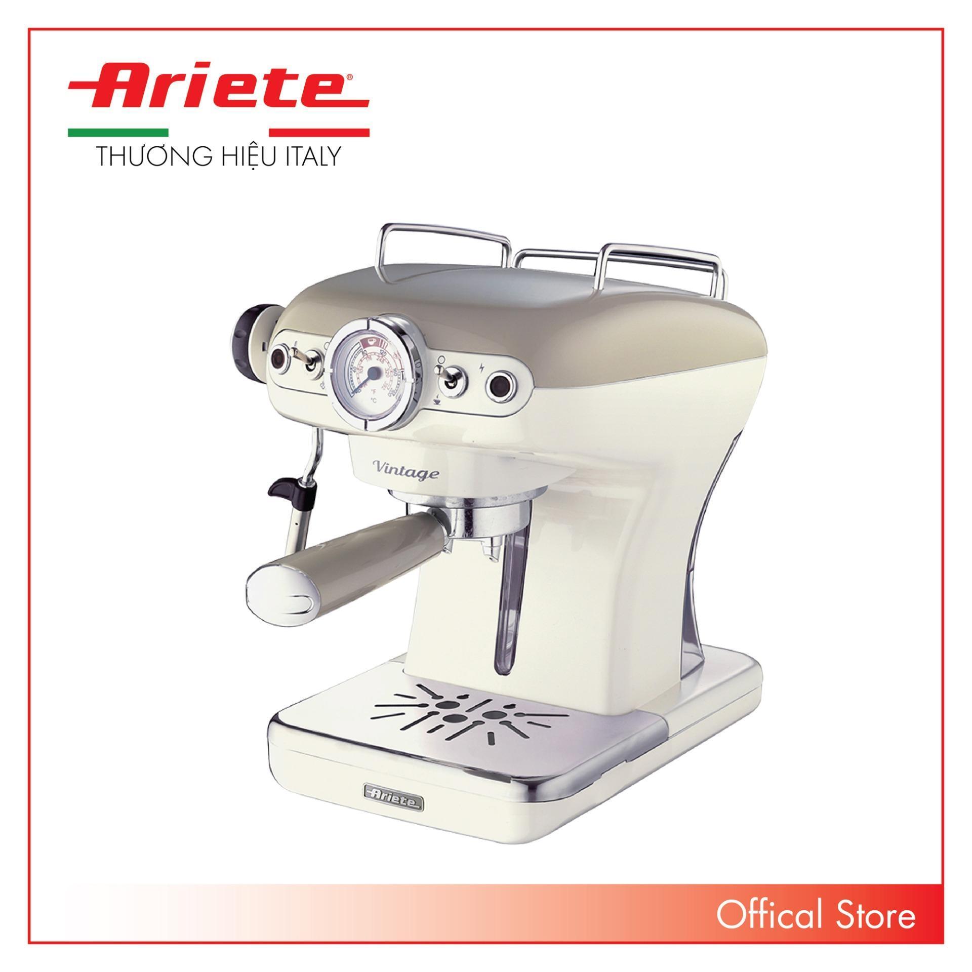 Máy pha cà phê 0,9 lít Ariete MOD. 1389/13 Kem