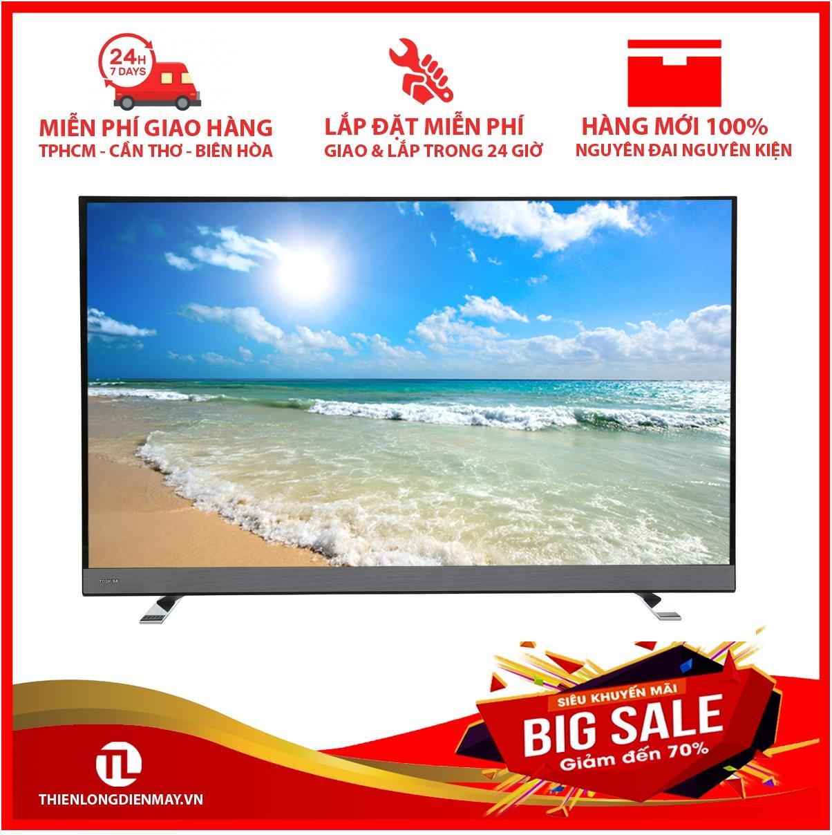 Bảng giá Smart tivi Toshiba 4K 55 inch 55U6750