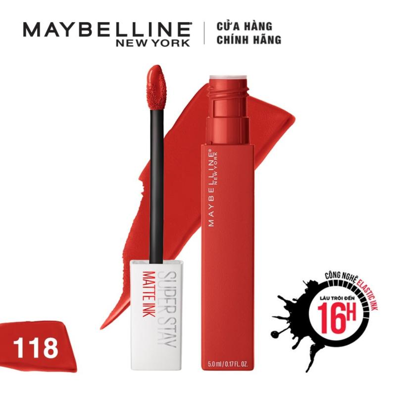 Son Kem Chuẩn Lì Giữ Màu 16h Maybelline New York Super Stay Matte Ink City Edition 5ml cao cấp