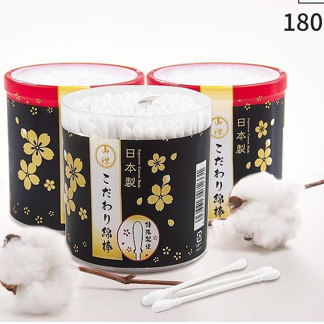 Hộp 180 bông ngoáy tai cao cấp cho người lớn Nội địa Nhật Jstore - MADE IN JAPAN cao cấp