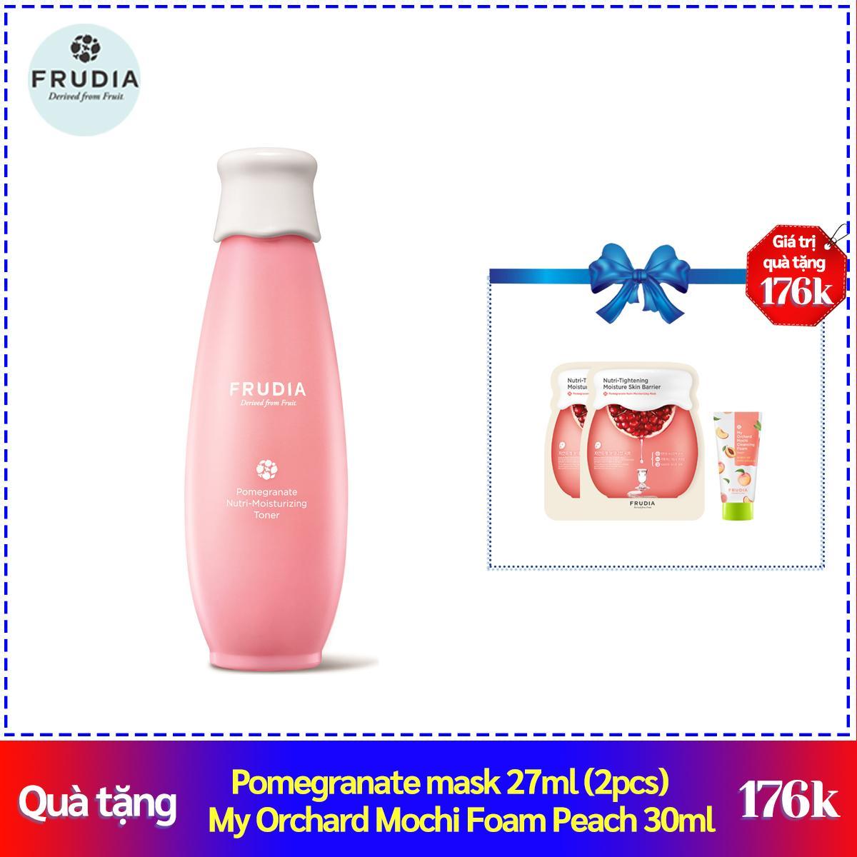 Nước Hoa Hồng Giàu Dưỡng Ẩm Chiết Xuất Quả Thạch Lựu Frudia Pomegranate Nutri-Moisturizing Toner 195ml cao cấp
