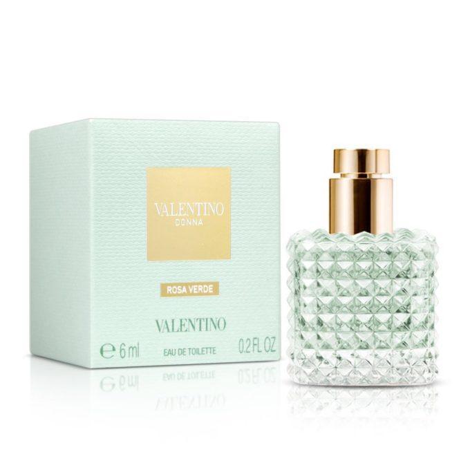 Nước hoa nữ Valentino Donna Rosa Verde EDT 6ml (Xanh)