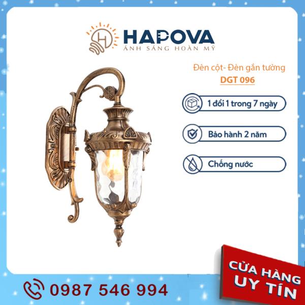 Đèn gắn tường HAPOVA DGT 096 đèn cầu thang trang trí ngoài trời sân vườn
