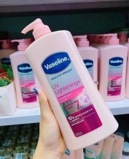 [Mẫu Mới] Sữa dưỡng thể trắng hồng Vaseline Uv Extra Brightening 10X 600ml thumbnail