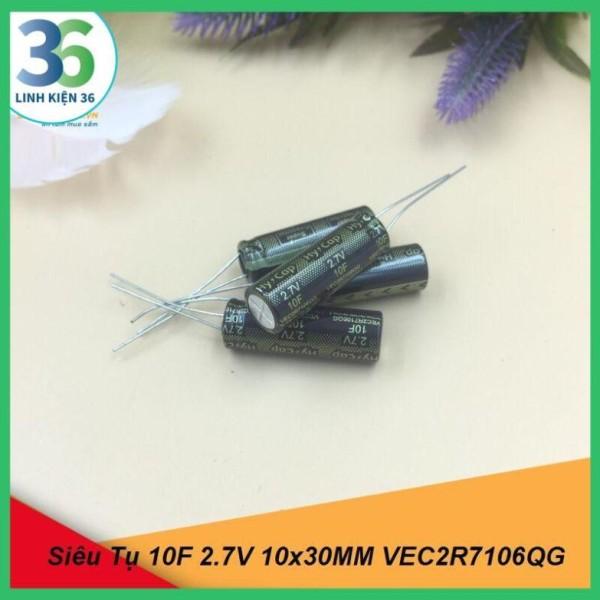 Bảng giá Siêu Tụ 10F 2.7V 10x30MM VEC2R7106QG Phong Vũ