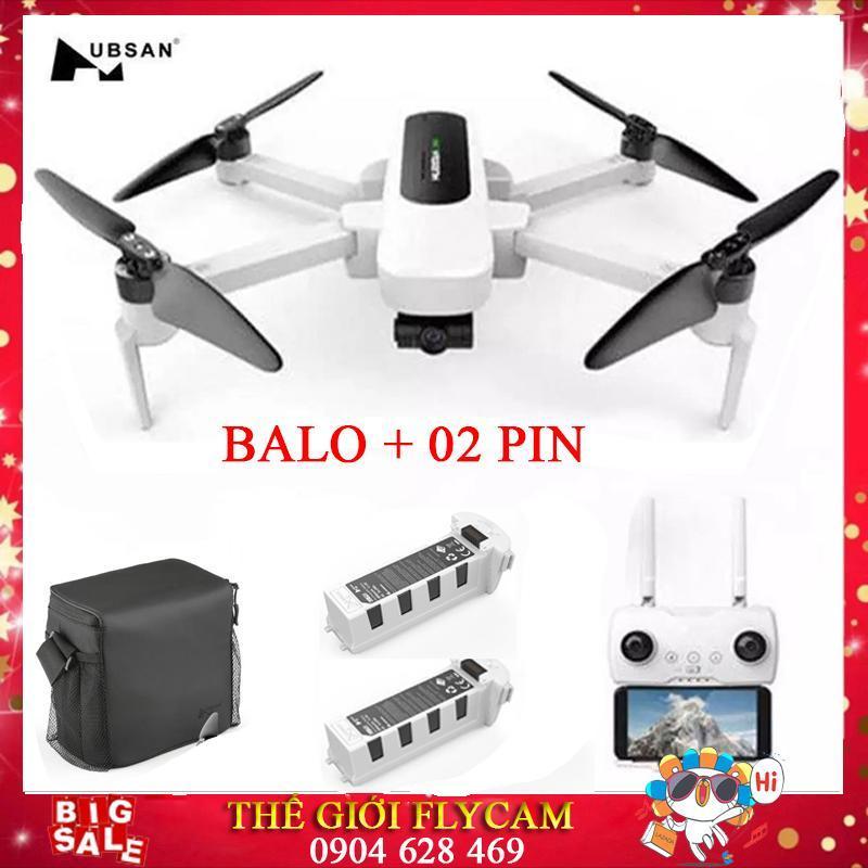 [COMBO 02 Pin + BALO] Máy bay Flycam Hubsan Zino H117S Camera 4K, GPS 5.8G, Gimbal 3 Trục, FPV 1 KM, Thời gian bay lên đến 23 phút