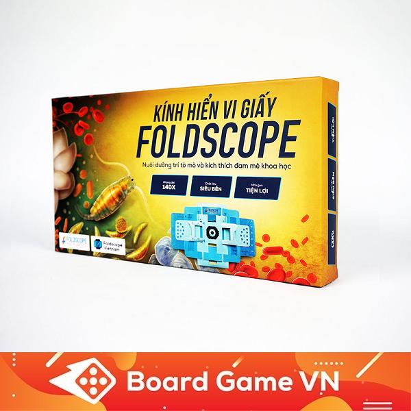 Kính Hiển Vi Giấy Foldscope - Khám Phá Vi Thế Giới Diệu Kỳ Bất Ngờ Giảm Giá