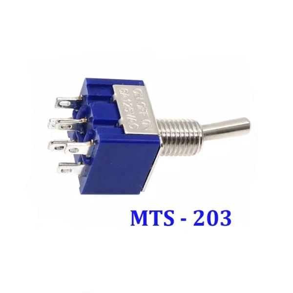 Bảng giá Combo 2 Công Tắc Gạt MTS-203 6 Chân 3 Vị Trí 2A 250VAC