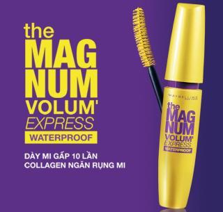 Mascara Maybelline Magnum Làm Dày Mi 10 Lần (9.2ml) thumbnail