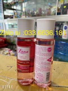 nước hoa hồng Lana giúp dưỡng sáng da ,cân bằng độ ẩm và se khít lỗ chân lông 150ml thumbnail