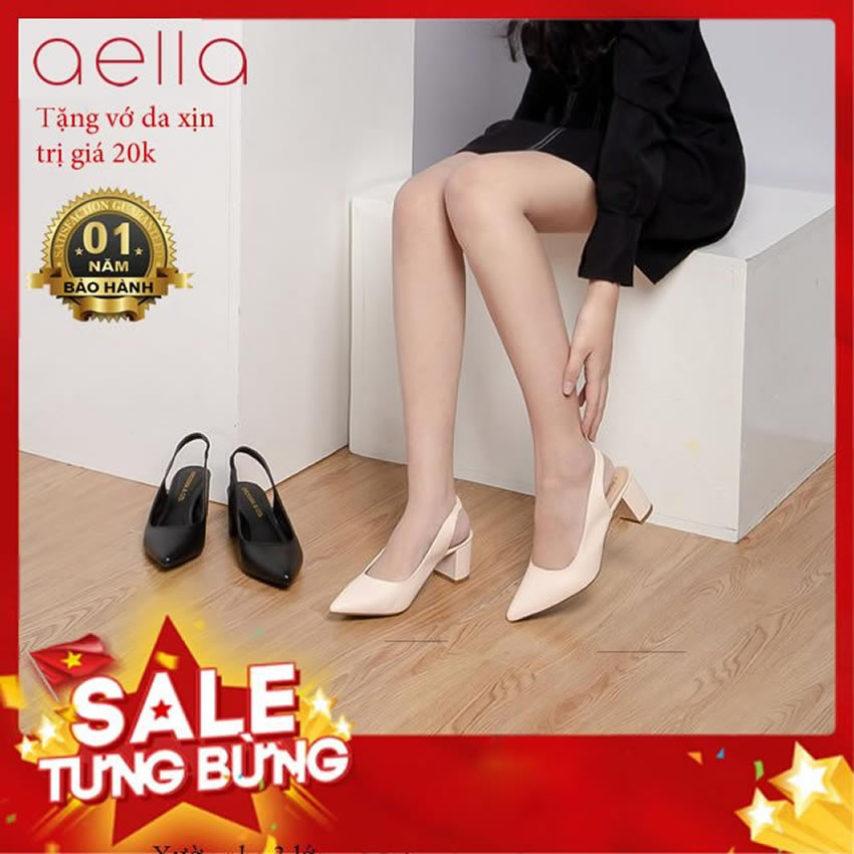 Giày cao gót nữ gót vuông 5cm AELLA AE204 giá rẻ