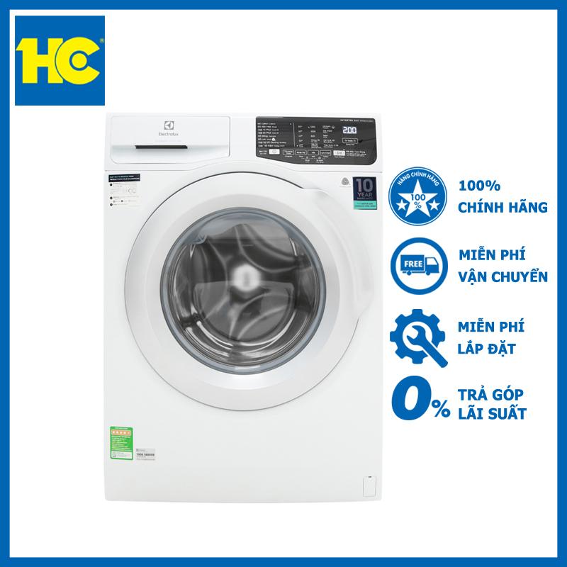 Máy giặt Electrolux inverter 8kg EWF8025CQWA lồng ngang - Miễn phí vận chuyển & lắp đặt - Bảo hành chính hãng