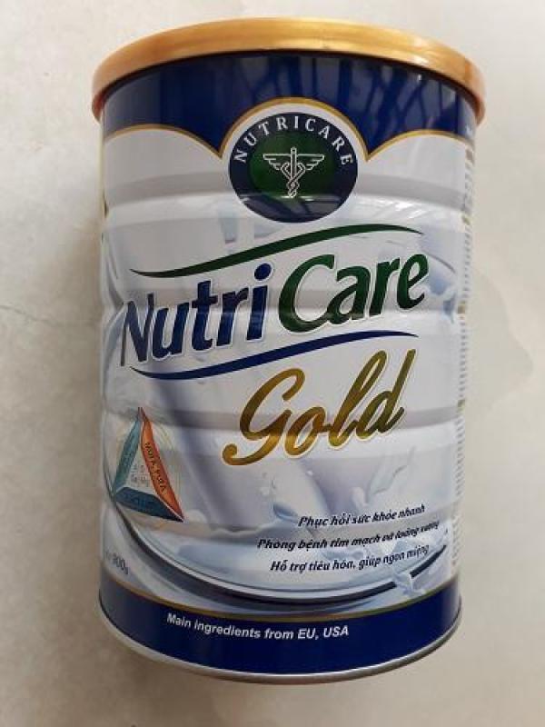 Sữa bột dinh dưỡng NutriCare Gold ( dành cho người cao tuổi) 900g cao cấp