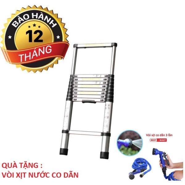 Thang nhôm rút Ladder Yokota loại 3.2m Tặng Vòi Xịt Nước Co Dãn