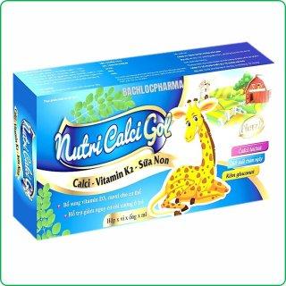 Calci Tăng Chiều Cao Nutri Calci Gold- Bổ Sung Calci D3,K2 Sữa Non Giúp Phát Triển Chiều Cao Ở Trẻ, Ngừa Loãng Xương Ở Người Già thumbnail