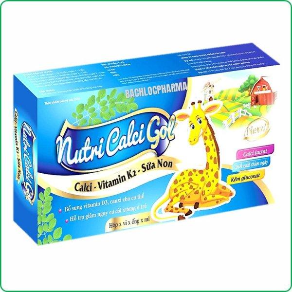 Calci Tăng Chiều Cao Nutri Calci Gold- Bổ Sung Calci D3,K2 Sữa Non Giúp Phát Triển Chiều Cao Ở Trẻ, Ngừa Loãng Xương Ở Người Già