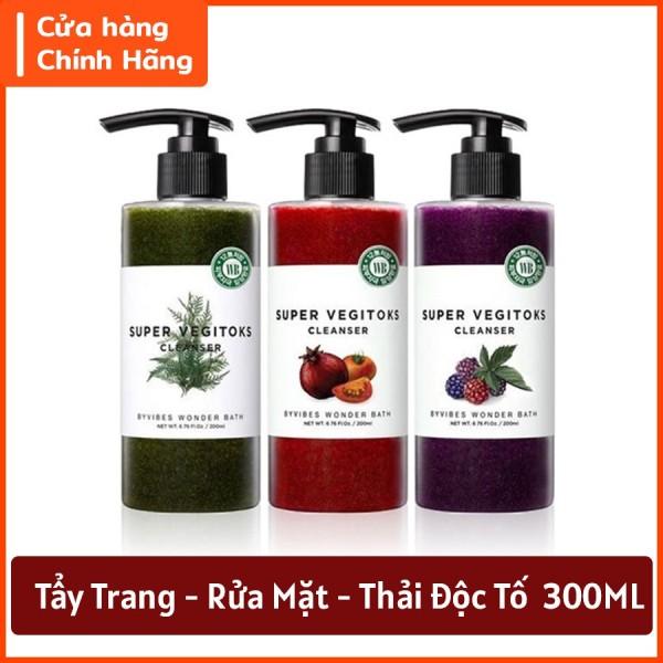 Sửa Rửa Mặt Rau Củ Quả Thải độc 3in1 Super Vegitoks cao cấp