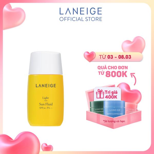 Kem chống nắng cho da dầu và da hỗn hợp Laneige Light Sun Fluid SPF50+ PA+++ 50ml giá rẻ
