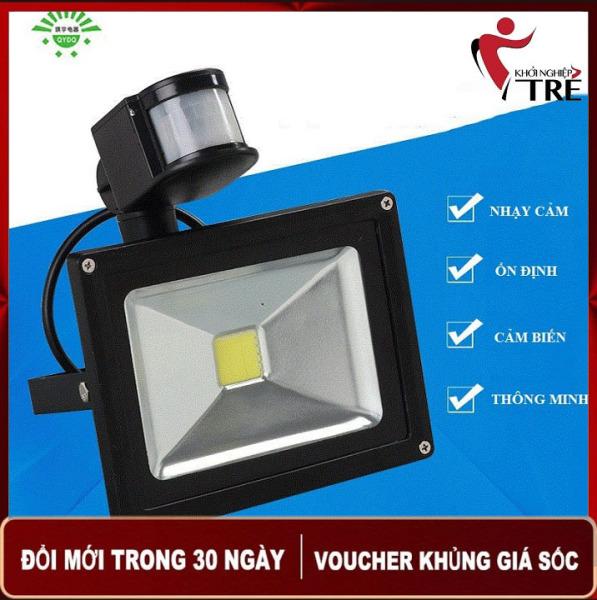 Bảng giá Đèn Pha LED Cảm Ứng 10W (Hàng Đẹp)