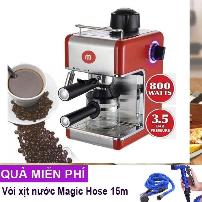 Máy pha cafe espresso Mishio + Tặng chảo chống dính