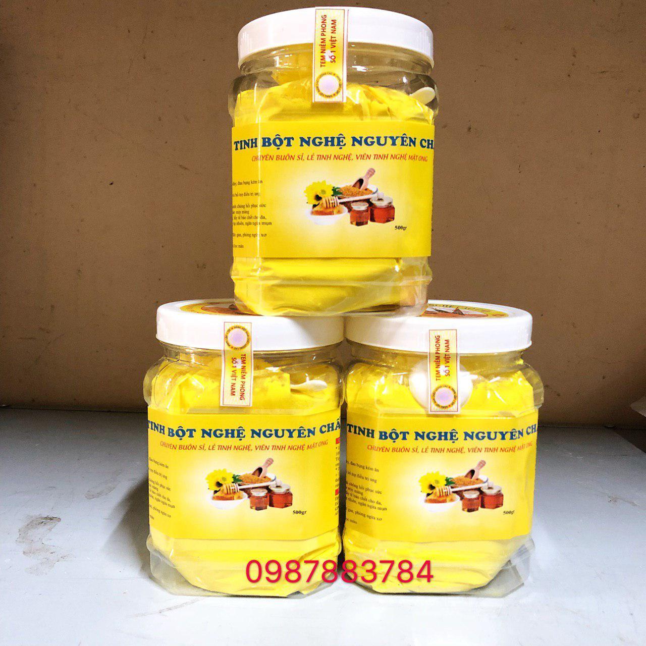 Giá Tiết Kiệm Để Sở Hữu Ngay 1.5kg Tinh Bột Nghệ Vàng Nguyên Chất
