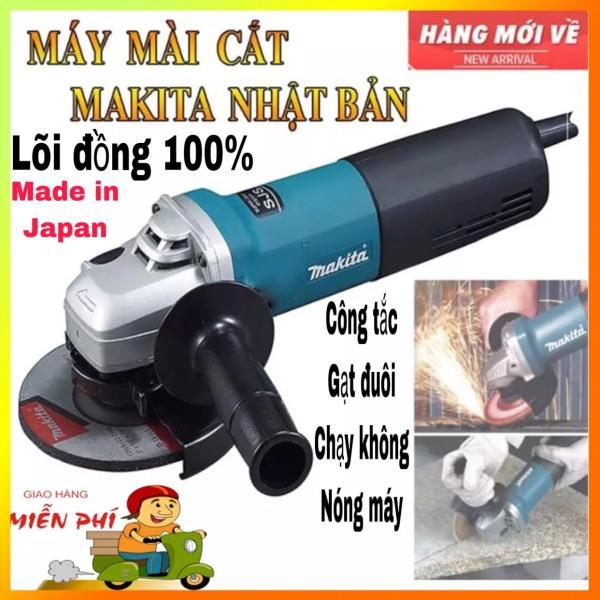 [HCM]Máy mài cắt makita nhật bản made japan 9556- máy mài cắt makita  Hàng Tốt Giá Rẻdụng cụ cơ khí máy mài máy cắt công suất 840w công tắc gạt đuôi - bảo hành 1 doi 1