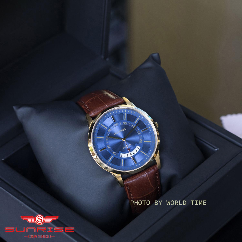 Nơi bán [NHIỀU MÀU] Đồng hồ Nam Sunrise DM1118SWA [Full Hộp , Thẻ BH Hãng 3 Năm] - Kính Sapphire chống xước , chống nước
