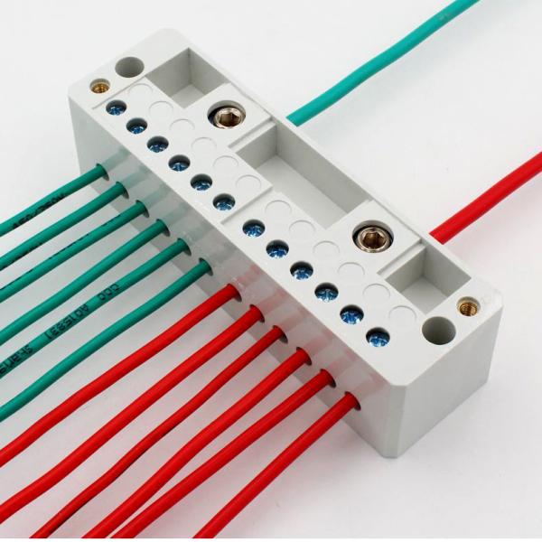Cầu đấu chia dây điện đôi 1 ra 4-8 FJ6