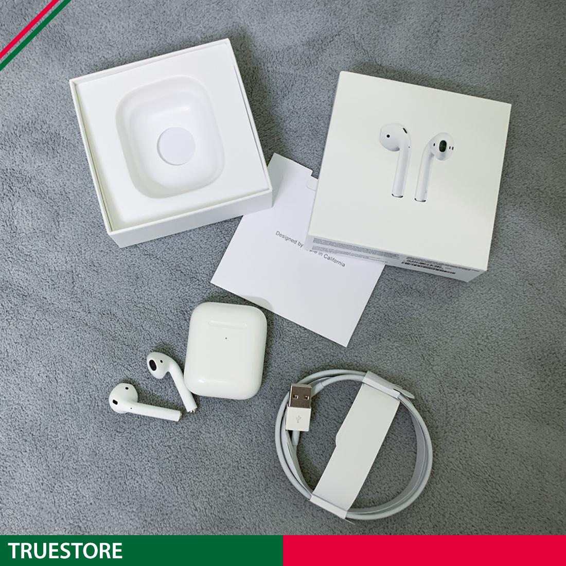 [ GIÁ SỐC GIẢM 50% ] Tai Nghe Bluetooth AirPods 2 True Wireless Full Box, Chip Jerry A8s Cao Cấp, Siêu Bass- Full Chức Năng Định Vị, Đổi Tên, Pop Up Tự Động, Tương Thích IOS & Androi [BH 3 tháng]