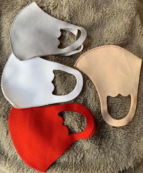 Khẩu trang trẻ em vải su bittee  kháng khuẩn, ngăn khói bụi, bảo vệ hô hấp cho bé, chất su mềm mịn, có thể giặt và sử dụng lại nhiều lần ( giao màu ngẫu nhiên )