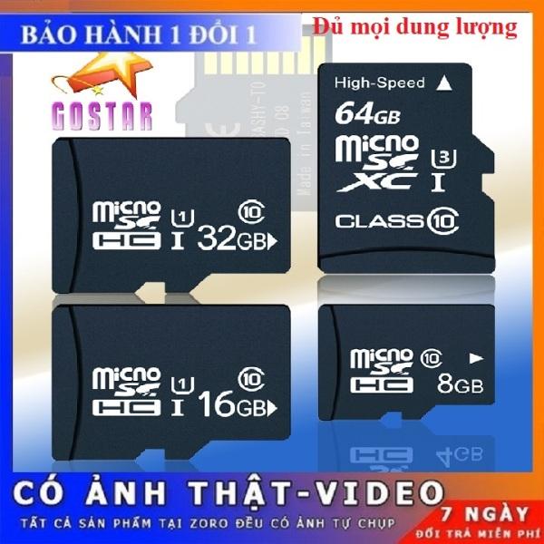 Bảng giá Thẻ nhớ MicroSD Class ⛔ XẢ KHO ⛔ 10 dung lượng 2/4/8/16/32/64/128 GB chuyên dùng Camera IP wifi Smartphoneloa đài thẻ nhớ đầu đọc thẻ Phong Vũ